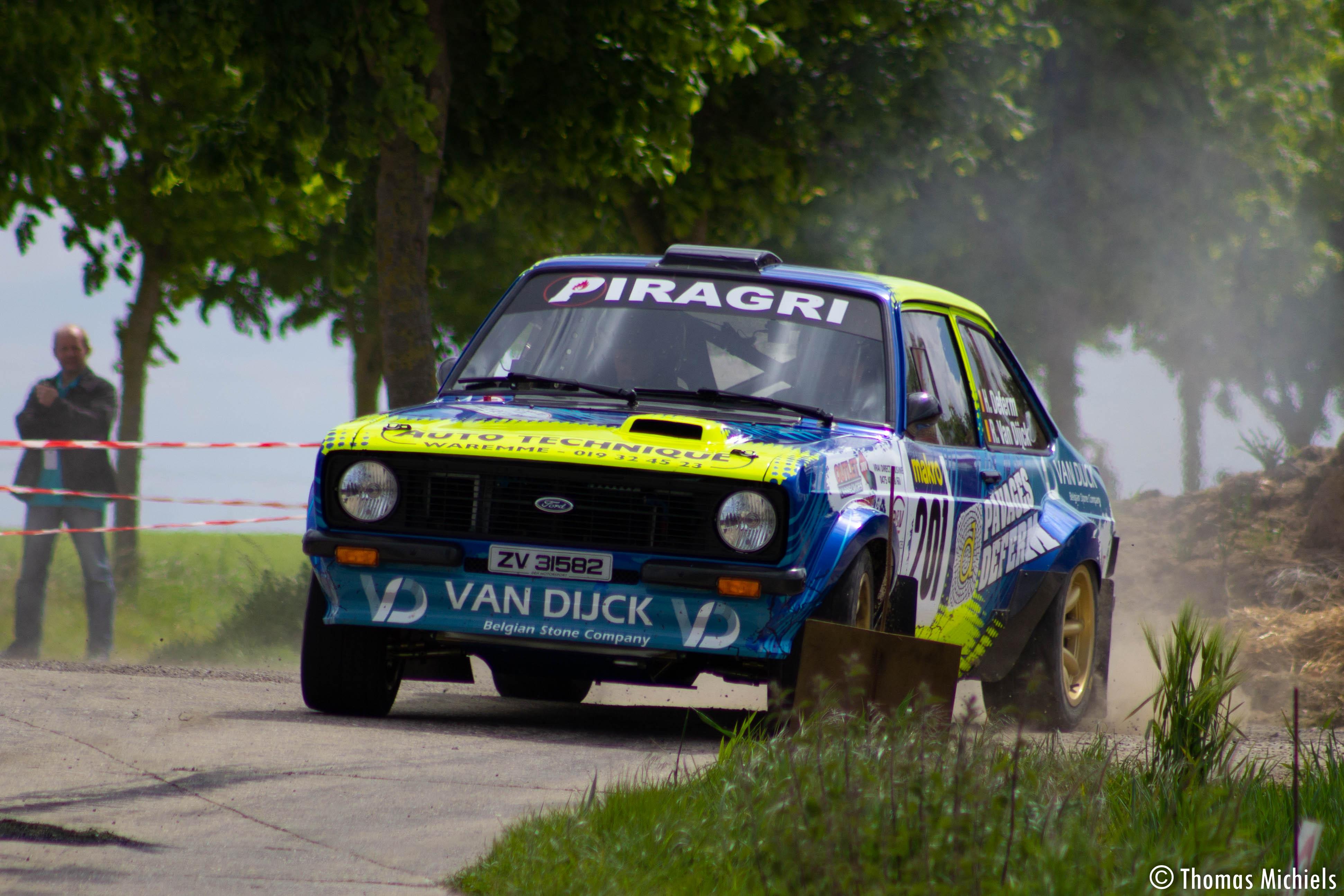 La Ford Escort de Hubert Deferm