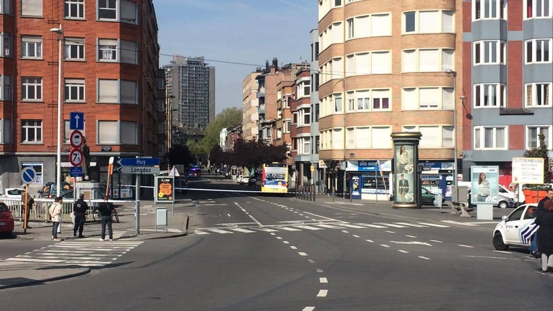 Fausse alerte au colis suspect à Liège, un homme interpellé