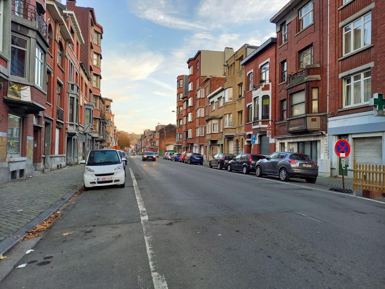 Une partie de la rue Maghin en sens unique