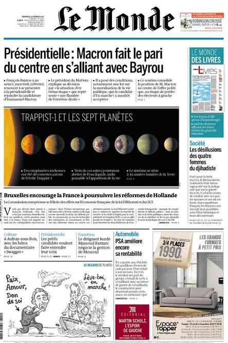 nasa Le Monde