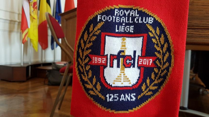 rfc liege echarpe 125 ans