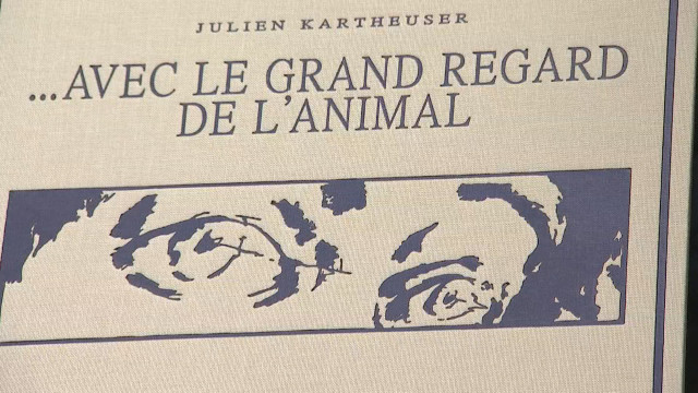 """... Avec le grand regard de l'animal"", roman graphique de Julien Kartheuser"