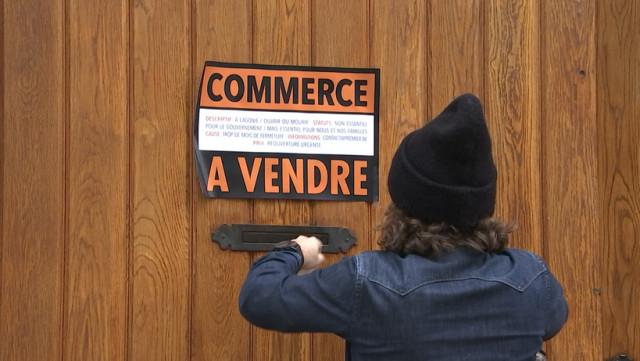 """Commerce à vendre"" campagne choc du Collectif Wallonie HORECA"