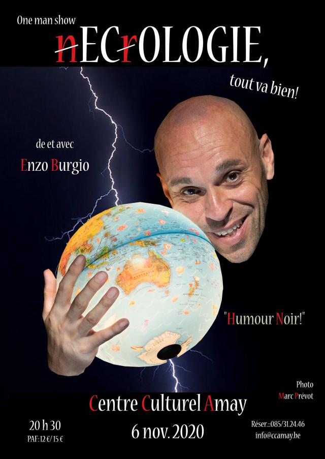 """""""Ecologie"""" le nouveau one-man-show d'Enzo Burgio"""