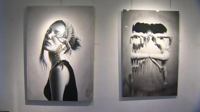 """""""En noir et blanc"""" : 18 artistes à la galerie Liehrmann"""