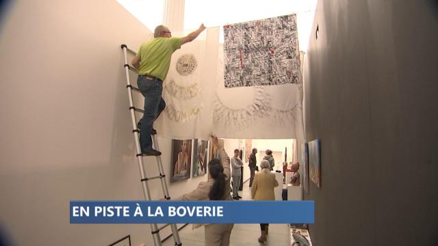 """""""En piste"""", les galeries et centres d'art au Musée de la Boverie"""