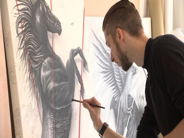 """""""Instinct"""", l'expo de Noir Artist à la galerie Lierhmann"""
