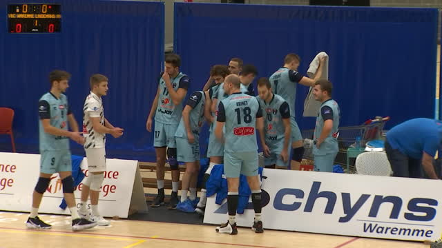 Le club de volley de Waremme reporte deux rencontres