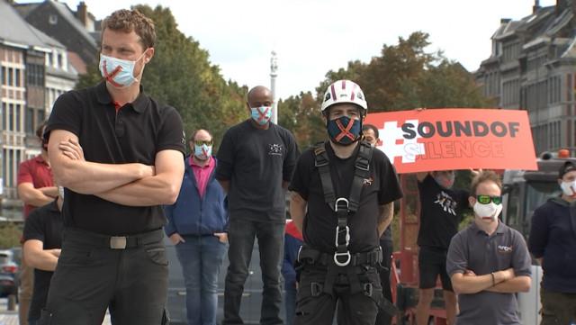 Sound of Silence lance un nouvel SOS à travers une action symbolique