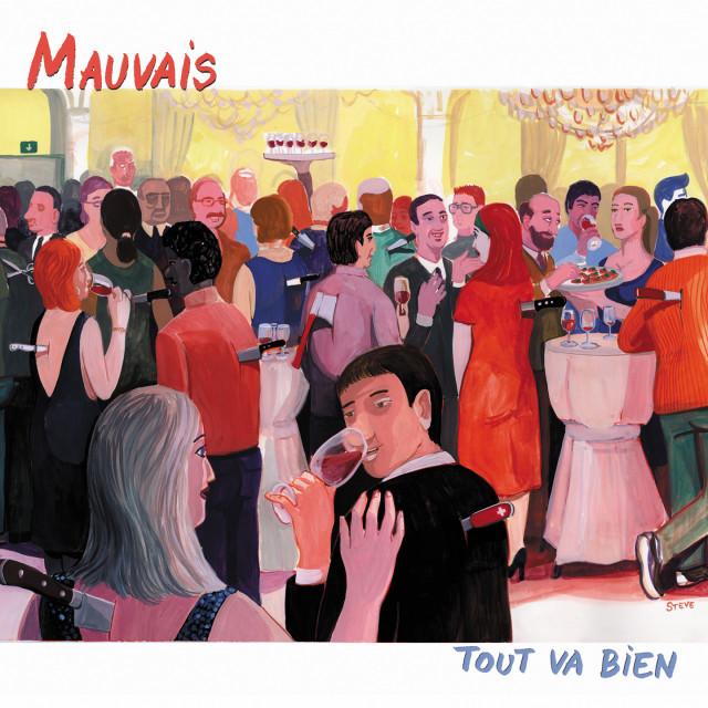 """""""Tout va bien"""", le deuxième album de Mauvais colle à l'actualité"""