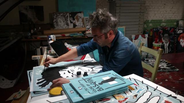 """Visions of Basquiat"" par Yves Budin"