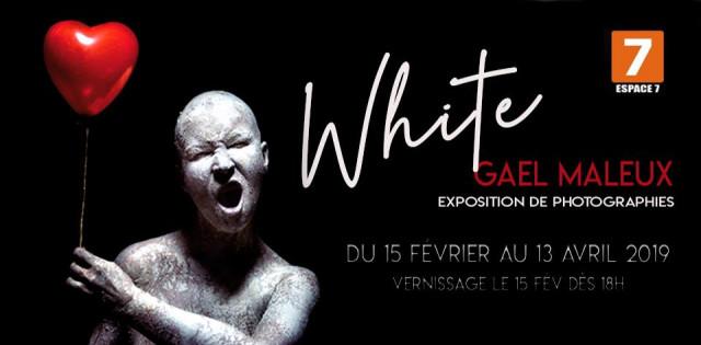 """""""White"""" : Gaël Maleux expose à l'Espace 7"""