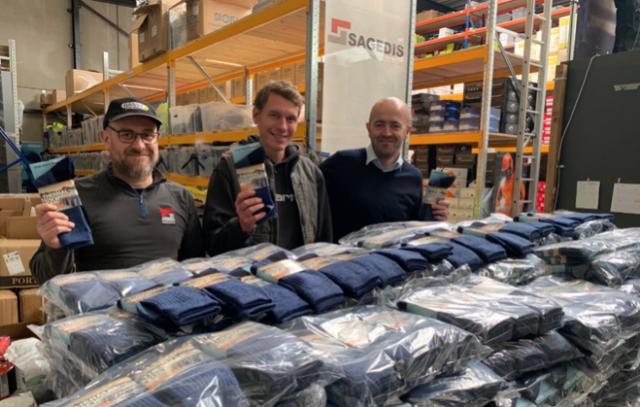 1000 kits pour les sans-abris