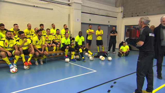 11 Liégeois appelés dans l'équipe nationale de futsal