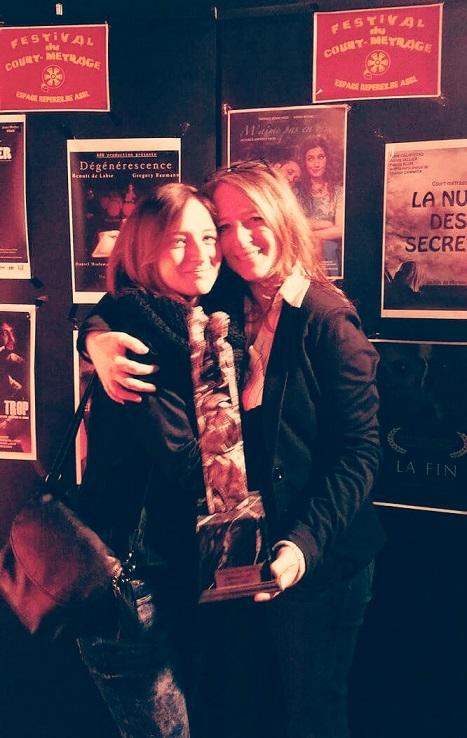 Martine Colas, prix du public au festival du court métrage d'Anderlecht