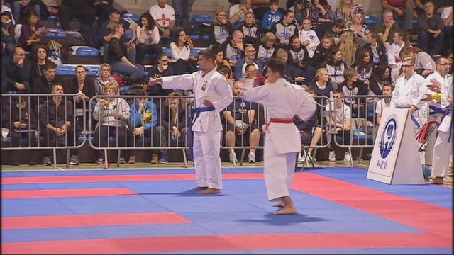 Visé : championnat européen de karaté Wudokai