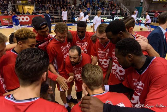 Première victoire de Liege Basket à domicile