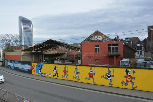 Nouvelle fresque Paliss'Art rue Varin