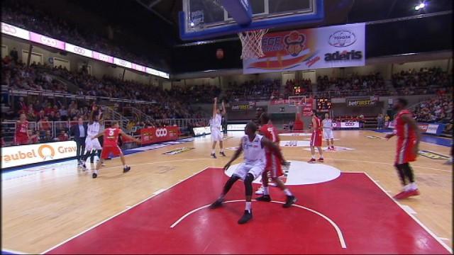 Liège Basket dominé par le Spirou