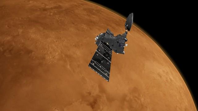 Amos impliqué dans les belles images de la planète Mars
