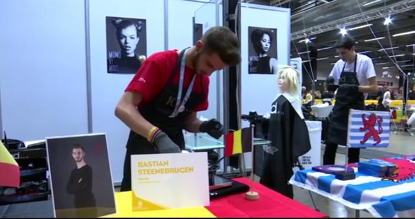Bastian, le coiffeur herstalien engagé à EuroSkills