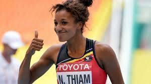 "Nafissatou Thiam, l'""Etoile montante"" (Rising Star) de l'athlétisme international"