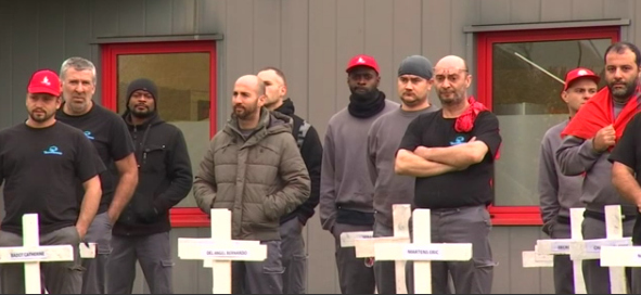 TruckTechnic à Herstal : grève avec occupation