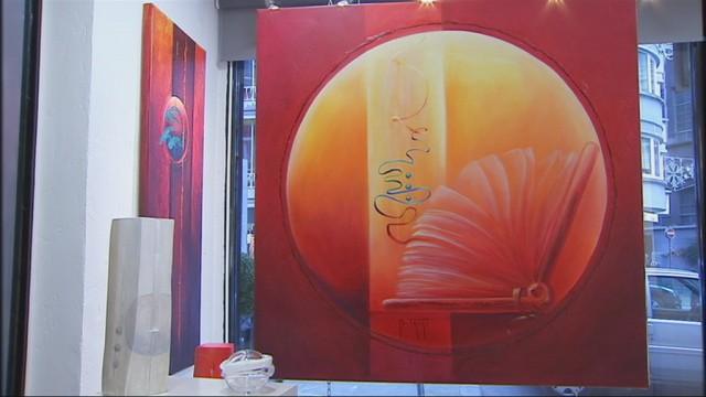 Bernadette Triki expose à la galerie Ewa à Liège