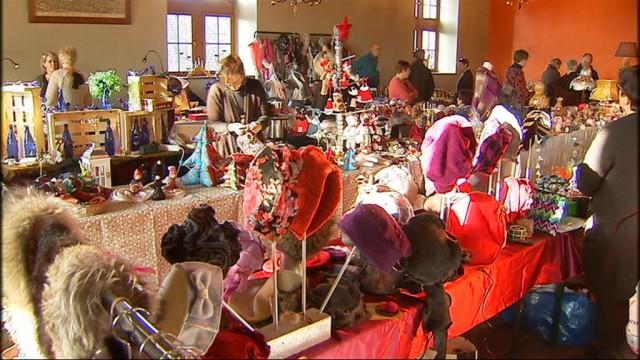 Le marché de Noël à l'Avouerie d'Anthisnes