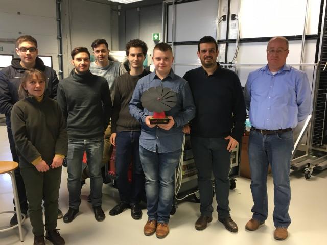 L'Institut Saint-Louis de Waremme remporte le « concours Luminus smartflower »