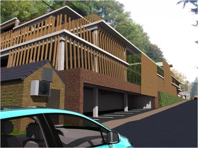 Hôpital d'Esneux : construction d'un nouveau parking