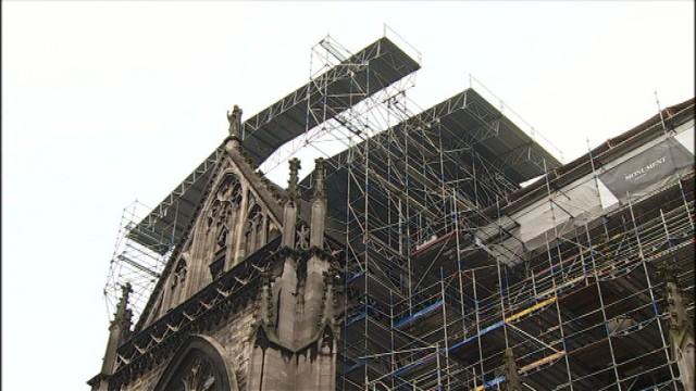 Travaux de rénovation à la Cathédrale Saint-Paul