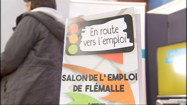 2ème salon de l'emploi à Flémalle