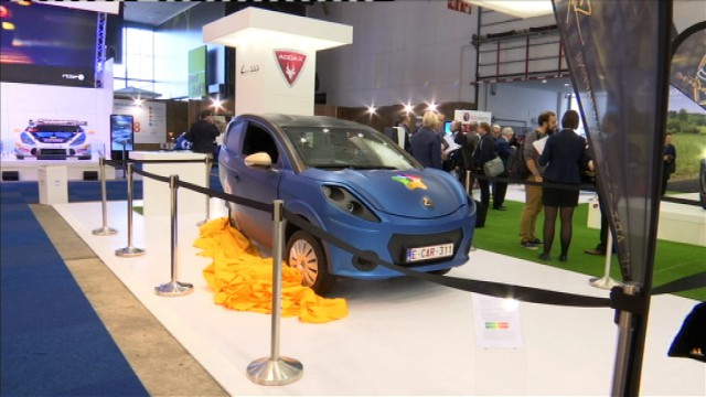 Auto : premières mondiales électriques un peu liégeoises