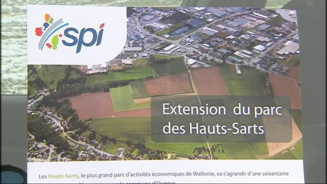 L'extension du parc des Hauts-Sarts