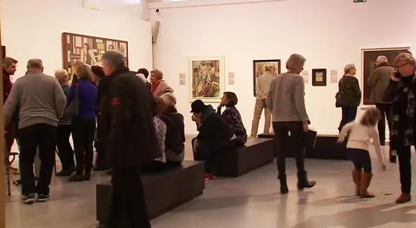 L'exposition 21 rue de la Boétie connaît un grand succès