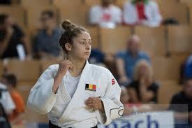 Myriam Blavier, espoir liégeoise en judo