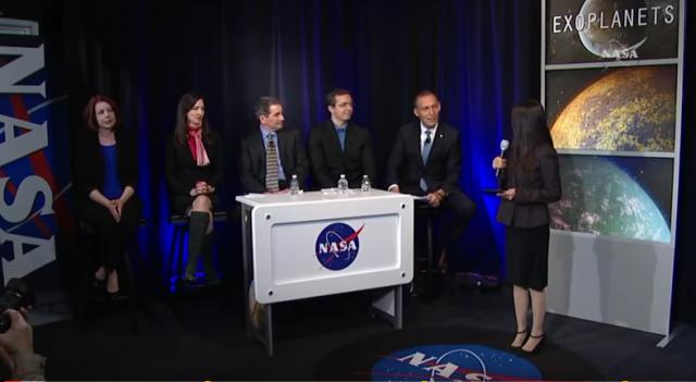 La découverte de 7 exoplanètes fait le tour du monde !