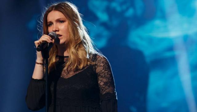 Blanche représentera la Belgique à l'Eurovision (clip)