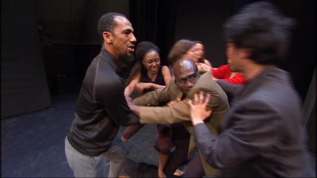 Dans la Peau de l'Autre, théâtre forum par et avec des migrants