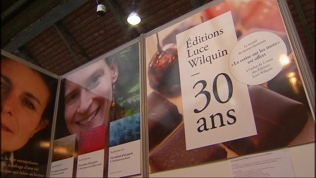 Luce Wilquin : portrait d'une éditrice liégeoise