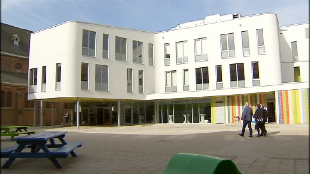 L'école Sainte-Croix de Hannut a été inaugurée