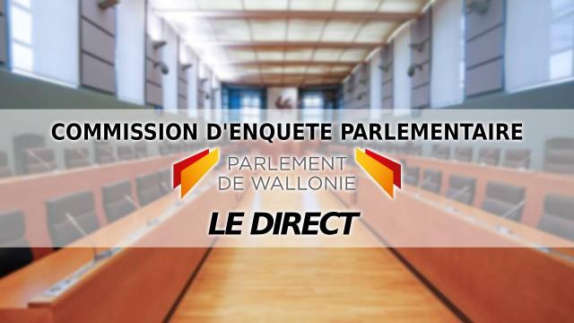 Suivez la commission Publifin en direct