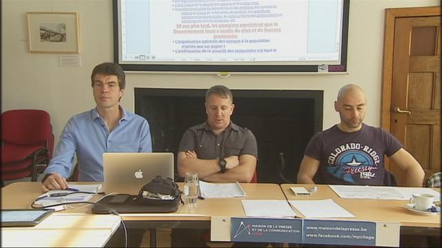 Liège : certains pompiers veulent déposer un préavis de grève