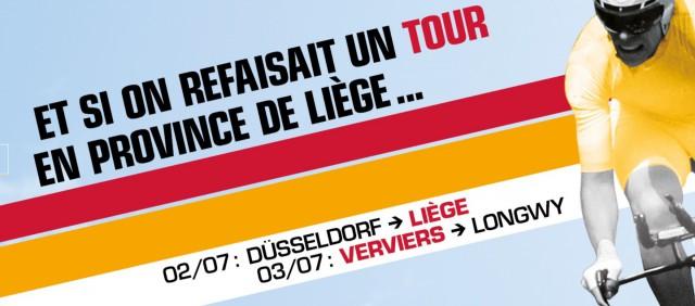 Le Tour de France à Liège et Verviers : la video