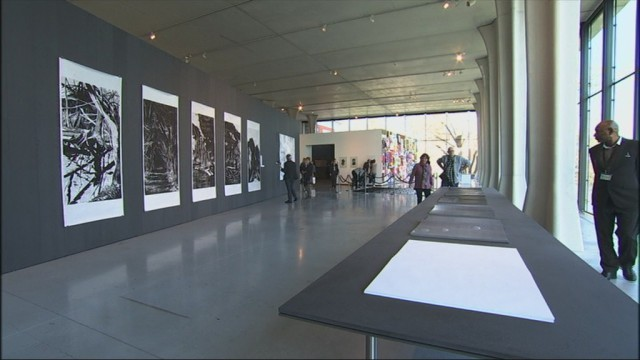 Biennale de la gravure, 200 oeuvres exposées