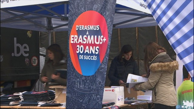 Le programme Erasmus a 30 ans