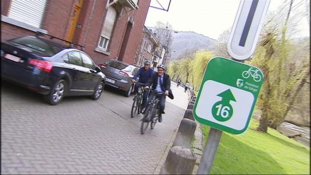 """Vélo : les premiers """"points-noeuds"""" en province de Liège"""