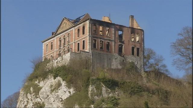 Incendie du château : Chokier est sous le choc