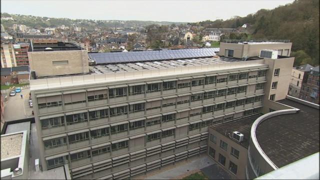 Le Centre Hospitalier Régional de Huy investit dans les énergies vertes.